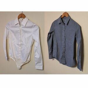 Button Up Shirt Bundle Uniqlo